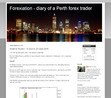 Forexiation - diary of a Perth forex trader